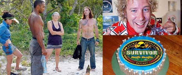 Coach and Albert's Survivor Power Struggle with Jonny Fairplay on Rob Cesternino's birthday