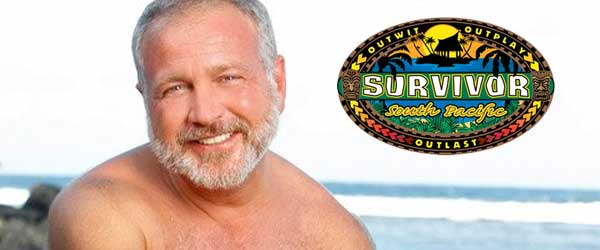 Papa Bear Mark Caruso from Survivor South Pacific