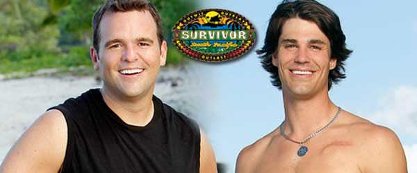 Jim Rice and Keith Tollefson from Survivor South Pacific