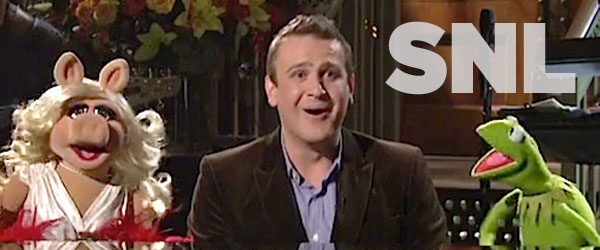 Jason Segal on Saturday Night Live with the Muppets