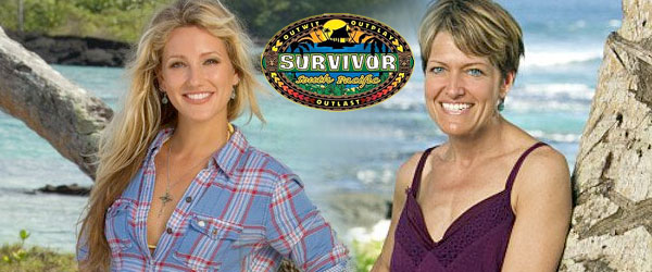 Whitney Duncan and Dawn Meehan from Survivor South Pacific