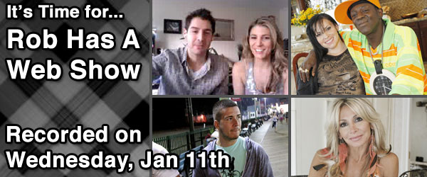 Rob Cesternino and Nicole discuss Miss Survivor, Celebrity Wife Swap and Jersey Shore