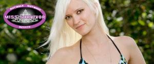 Miss Survivor Finalist, Courtney Yates