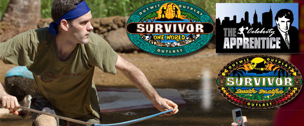 Dalton Ross ranks Survivor South Pacific and previews Survivor One World and the Celebrity Apprentice