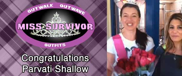 Parvati Shallow accepts the title of Miss Survivor