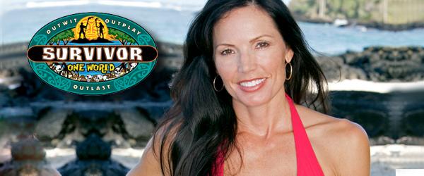 Monica Caulpepper, wife of NFL player Brad Caulpepper, from Survivor: One World