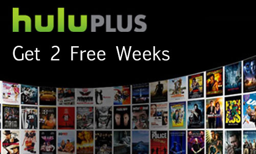 Get 2 Weeks Free of Hulu Plus When you sign up at HuluPlus.com/Rob