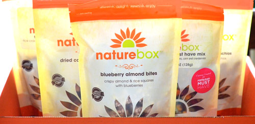 Get A Free Sampler Box of Healthy Snacks from NatureBox
