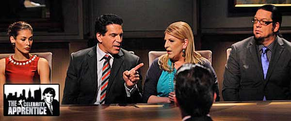 Lou Ferrigno and Lisa Lampanelli have an epic fight in the Boardroom on Celebrity Apprentice