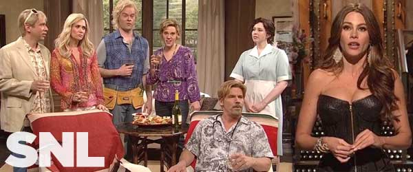 John Brolin and Sophia Vergara hosted the last two weeks of Saturday Night Live