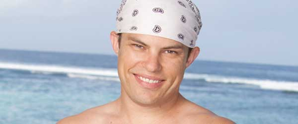 The King of Challenge Celebration, Leif Manson from Survivor One World (photo courtesy of CBS)