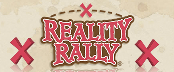 The second annual reality rally will take place in Temecula, CA starting on Friday, April 13