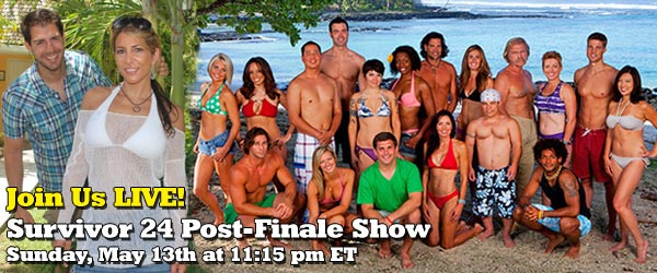 LIVE Reactions to the winner of Survivor One World from Rob Cesternino following the Survivor 24 Finale and Reunion show
