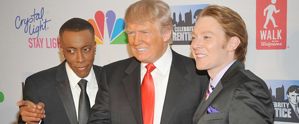 Donald Trump selects Arsenio Hall over Clay Aiken to become his new Celebrity Apprentice