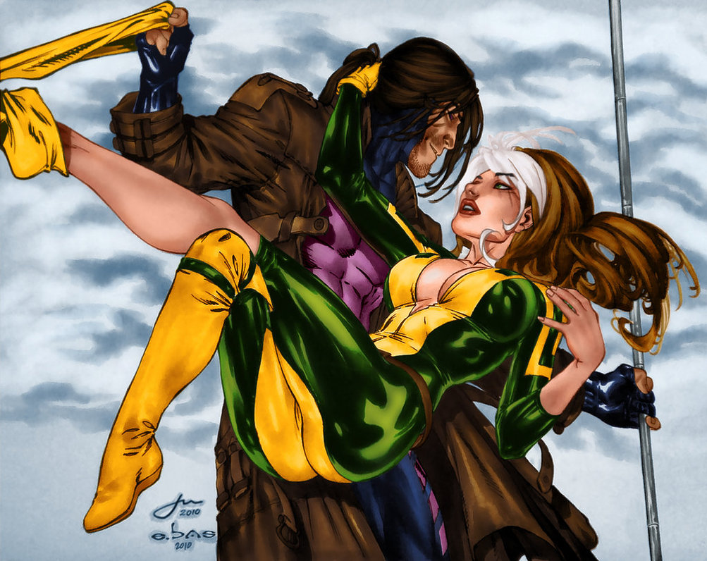 Were Rogue and Gambit the original Emily and Ryan?