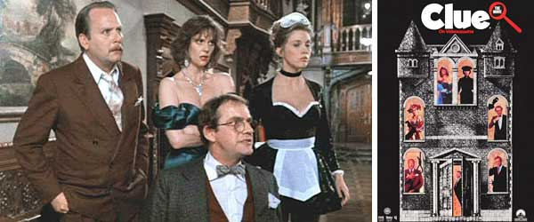Podcasting about the 1985 Film CLUE: The Movie