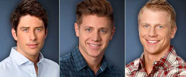 Arie, Jef and Sean are the Bachelorette Final 3