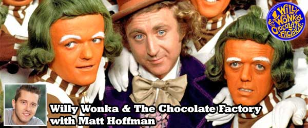 Big Brother 12's Matt Hoffman joins Rob Cesternino to discuss the 1971 film Willy Wonka and the Chocolate Factory on a new movie podcast