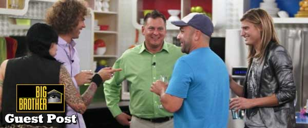 Willie Hantz fools no one by saying he is not related to Russell Hantz on Big Brother 14