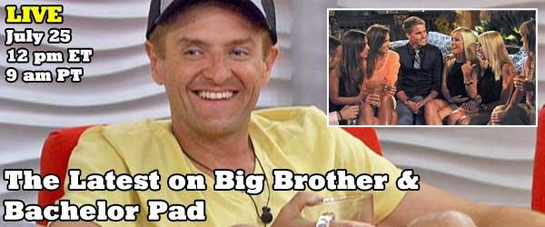 The latest on Big Brother 14 and Bachelor Pad