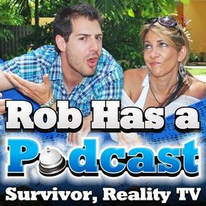 Rob Has a Podcast Logo