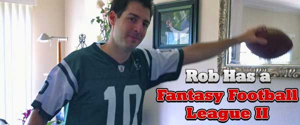 Rob Cesternino battles fans and favorites in Rob Has a Fantasy Football League II