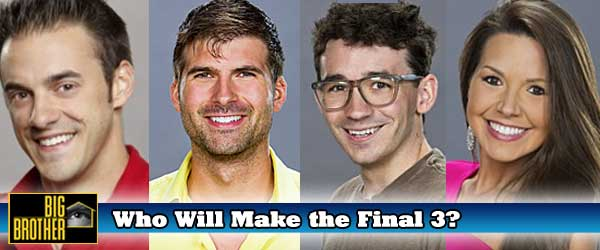 Who Will Make it to the Big Brother Final Three out of Dan, Shane Ian or Danielle?