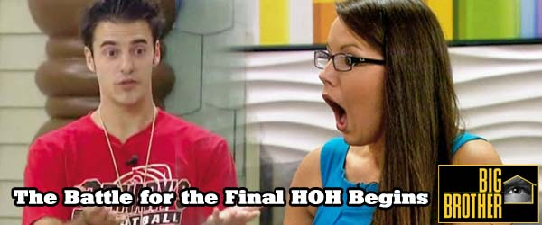 Who will become the final HOH on Big Brother 14? Dan Gheesling, Ian Terry or Danielle Murphree?