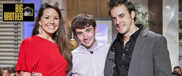 The Big Brother 14 Final Three: Danielle Murphree, Winner Ian Terry and Dan Gheesling