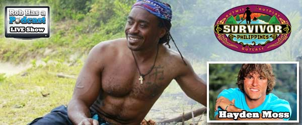 Can Russell Swan rebound on episode 2 of Survivor Philippines? Plus Hayden Moss discusses Big Brother 14 and Big Brother Canada