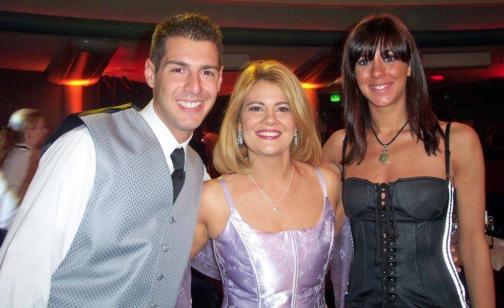 Rob Cesternino and Jenna Morasca with Survivor Philippins cast member and Lisa Whelchel, the actress who played Blair on The Facts of Life
