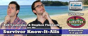 Rob Cesternino and Stephen Fishbach are the Survivor-Know-It-Alls