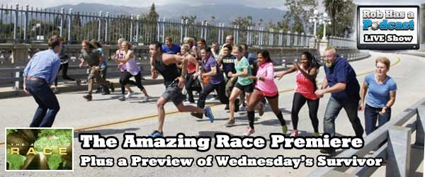 The Amazing Race kicked off with a new 2 million dollar twist