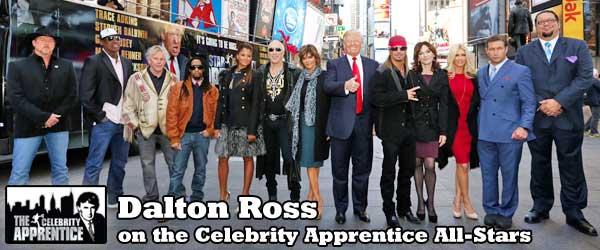 Dalton Ross on the Celebrity Apprentice All-Stars Cast