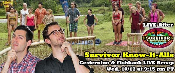 Stephen Fishbach and Rob Cesternino recap episode 5 of Survivor Philippines
