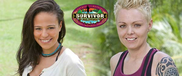 Rob Cesternino has an exit initerview with Sarah Dawson and Dana Lambert, the two most recent people voted out of Survivor Philippines