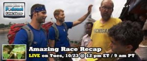 Recapping Episode 4 of the Amazing Race and Previewing Survivor Philippines