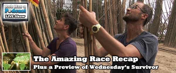 Recapping the Amazing Race Non Elimination Leg