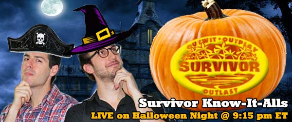Rob Cesternino and Stephen Fishbach are the Survivor Know-It-Alls recapping Survivor Philippines Episode 7 on Halloween