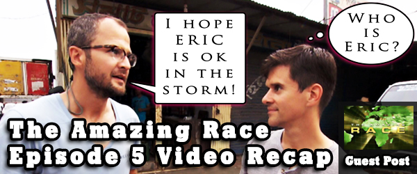 Eric Curto provides a recap of Amazing Race LIVE from Hurricane Sandy