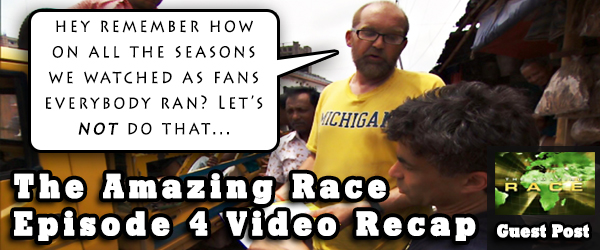 Eric Curto is back with the Amazing Race Video Recap