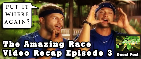 Eric Curto recaps Episode 3 of the Amazing Race