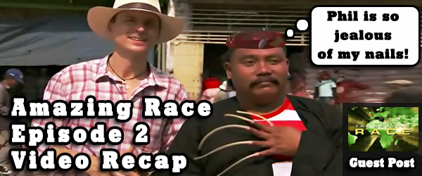Eric Curto nails another Amazing Race Video Recap for Episode 2