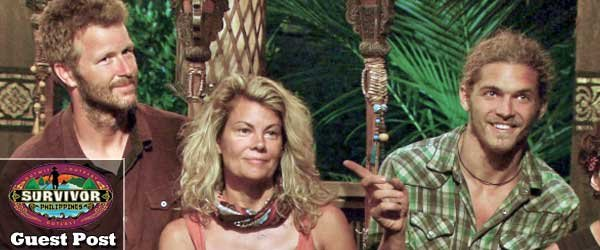 In her latest Survivor Philippines blog, Sarah Freeman tries to figure out why Jeff Kent got voted out