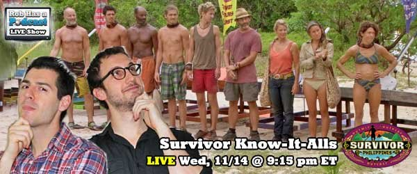 The Know-It-Alls Recap the Final 9 of Survivor Philippines