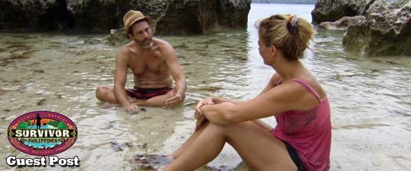 Sarah Freeman Tries to Determine Who Are the Good Guys and Who are the Bad Guys in the story of Survivor Philippines