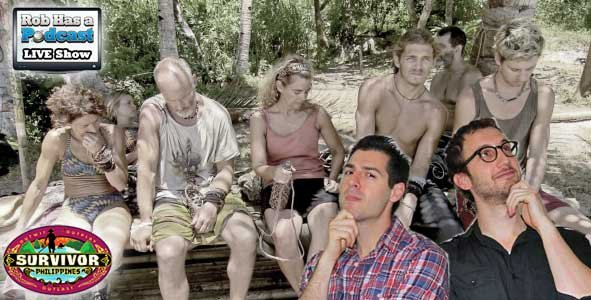 Rob Cesternino and Stephen Fishbach recap Episode 11 of Survivor Philippines LIVE