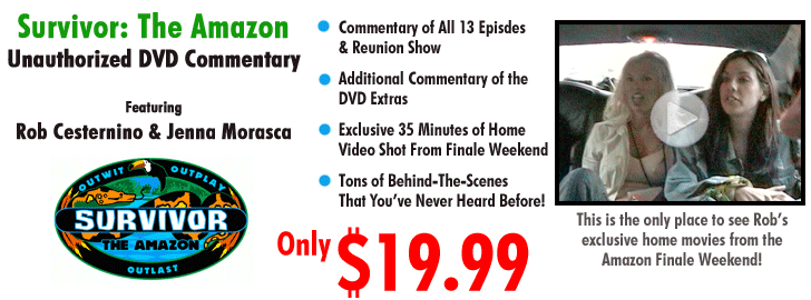 Order Survivor The Amazon Unauthorized DVD Commentary for only $19.99