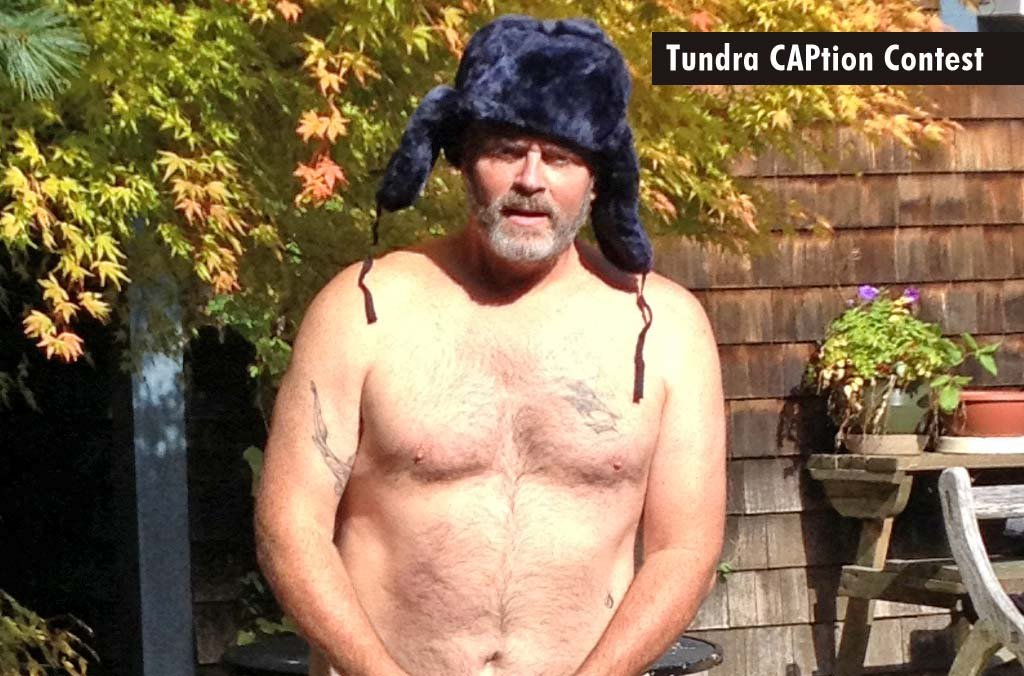Make the best caption for this photo of Richard Hatch and win a Tundra Hat