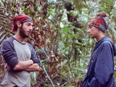 Rob Cesternino and Jenna Morasca get into a fight on Survivor: The Amazon